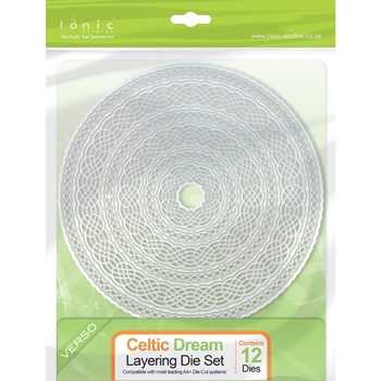 Tonic CELTIC DREAM Layering Die Set 209E*