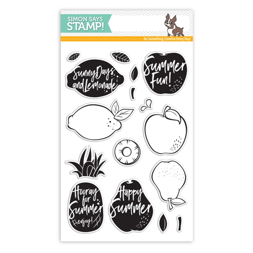 Simon Says Clear Stamps DANCING FRUITS SSS101745 One Of A Kind Preview Image