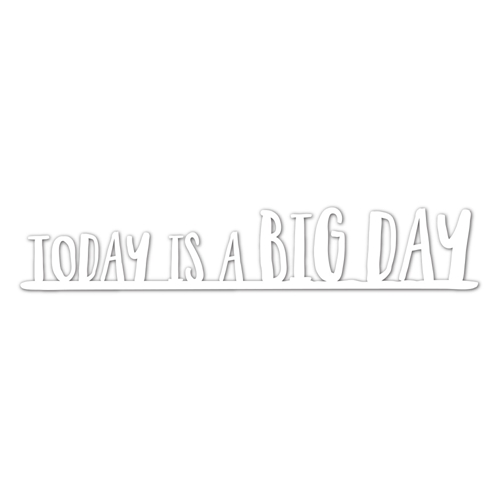 Simon Says Stamp BIG DAY Wafer Dies SSSD111729 One Of A Kind Preview Image