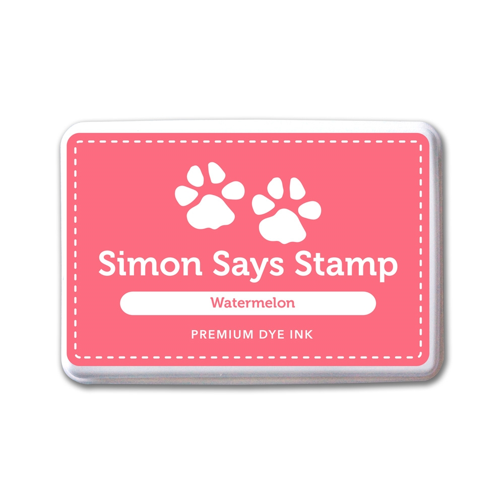Simon Says Stamp Premium Dye Ink Pad WATERMELON