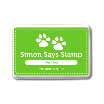 Simon Says Stamp Premium Dye Ink Pad KEY LIME INK078 One Of A Kind