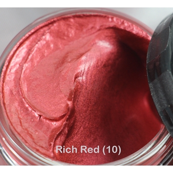 Cosmic Shimmer RICH RED Metallic Gilding Polish With Applicator 911837