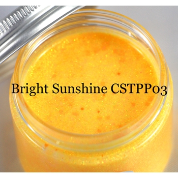 Cosmic Shimmer BRIGHT SUNSHINE Sparkle Texture Paste 913855