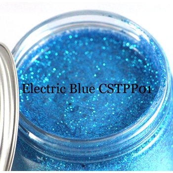 Cosmic Shimmer ELECTRIC BLUE Sparkle Texture Paste 913848