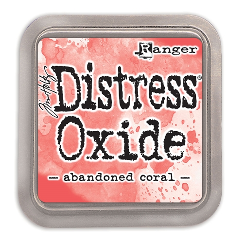 Tim Holtz Distress Oxide Ink Pad ABANDONED CORAL Ranger TDO55778 Preview Image