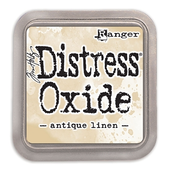 RESERVE Tim Holtz Distress Oxide Ink Pad ANTIQUE LINEN Ranger TDO55792