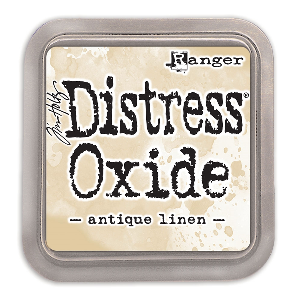 Tim Holtz Distress Oxide Ink Pad ANTIQUE LINEN Ranger TDO55792 zoom image