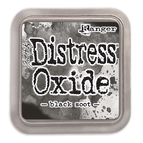 Tim Holtz Black Soot Distress Oxide Ink