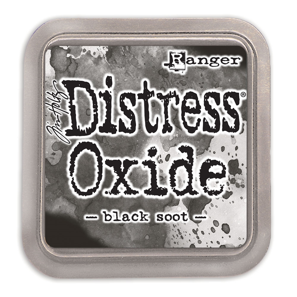 Tim Holtz Distress Oxide Ink Pad BLACK SOOT