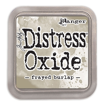 Tim Holtz Distress Oxide Ink Pad FRAYED BURLAP Ranger TDO55990