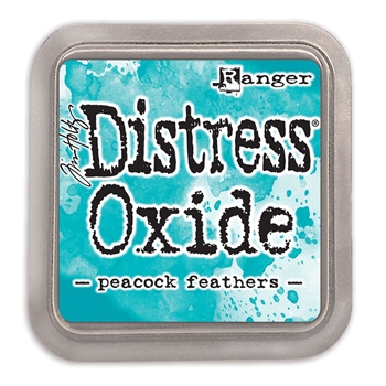 Tim Holtz Distress Oxide Ink Pad PEACOCK FEATHERS Ranger TDO56102