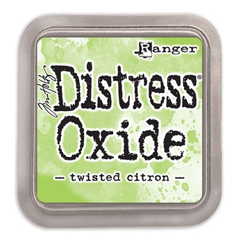 Tim Holtz Distress Oxide Ink Pad TWISTED CITRON Ranger TDO56294