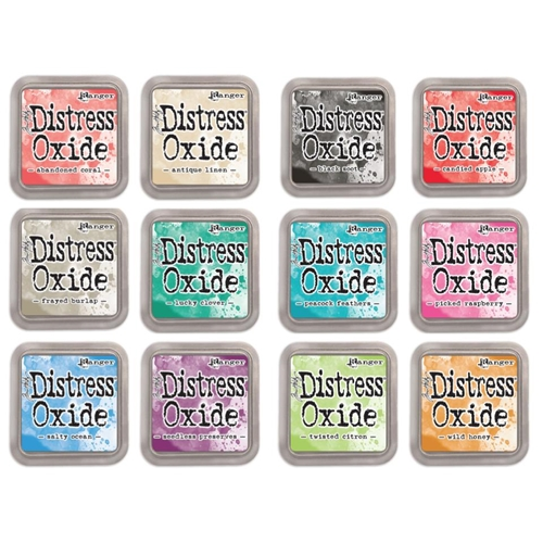 Tim Holtz Distress Oxide Ink Pads Set 2