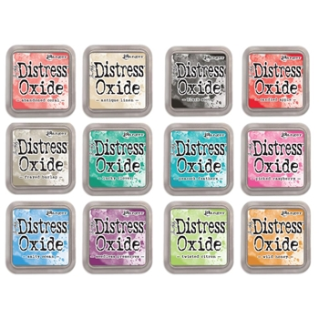 RESERVE Tim Holtz Distress OXIDE INK PAD SET OF 12 Ranger Ranger102