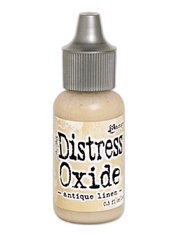 Tim Holtz Distress Oxide Reinkers ANTIQUE LINEN Ranger TDR56898 zoom image