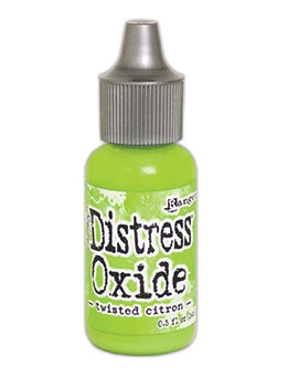 Tim Holtz Distress Oxide Reinkers TWISTED CITRON Ranger TDR57390