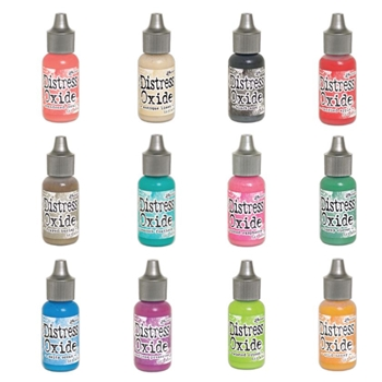 Tim Holtz Distress OXIDE REINKERS SET OF 12 Ranger RANGER103