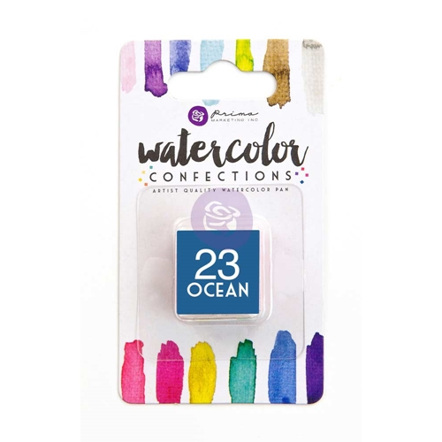 Prima Marketing 23 OCEAN Watercolor Confections Pan Refill 596200 Preview Image