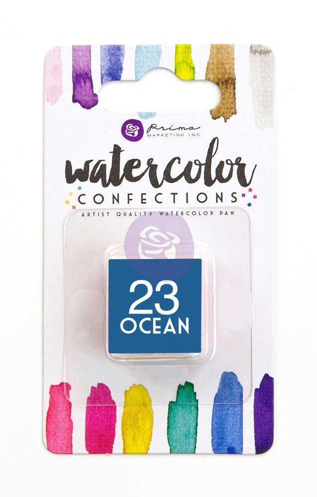 Prima Marketing 23 OCEAN Watercolor Confections Pan Refill 596200 zoom image