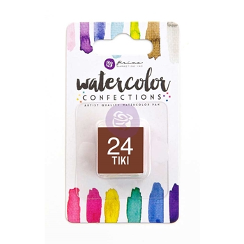 Prima Marketing 24 TIKI Watercolor Confections Pan Refill 596217
