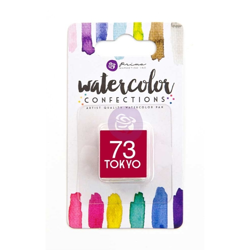 Prima Marketing 73 TOKYO Watercolor Confections Pan Refill 596224 Preview Image