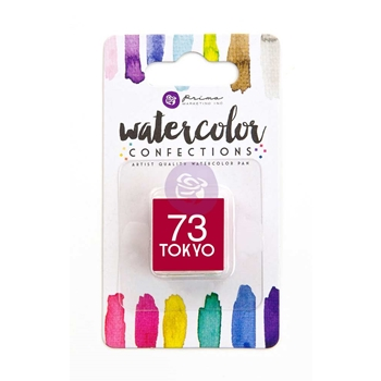 Prima Marketing 73 TOKYO Watercolor Confections Pan Refill 596224