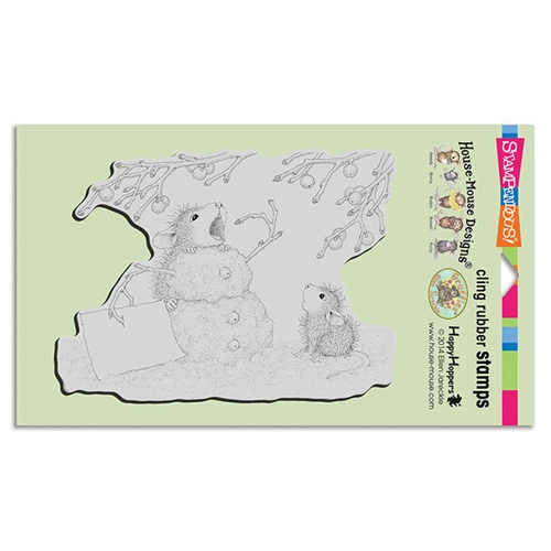 Stampendous Hungry Snowman Cling Stamp