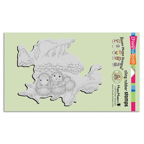 Stampendous, House Mouse Berry Nibbles Cling stamp