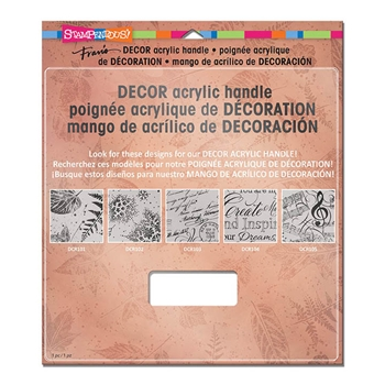 Stampendous DECOR ACRYLIC HANDLE SSH88