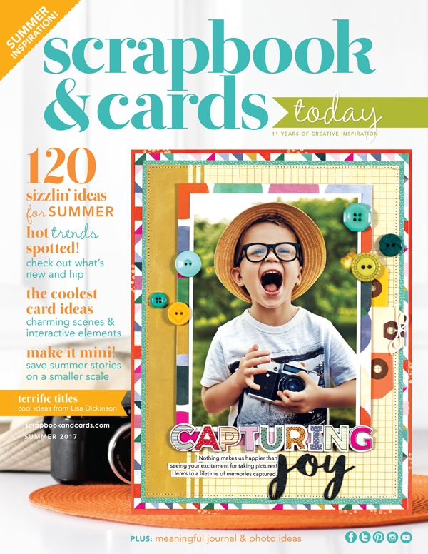 Scrapbook & Cards Today Magazine SUMMER 2017 Issue 580690 zoom image