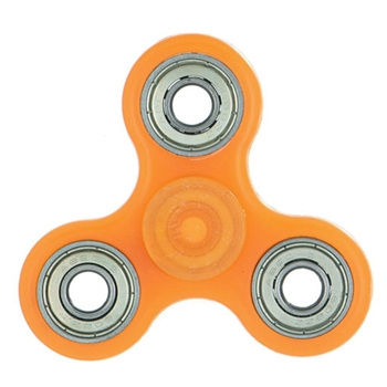 Fidget Spinner ORANGE Glow In the Dark Hand Spinners HSFS014