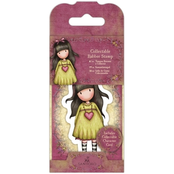 DoCrafts HEARTFELT Mini Cling Stamp Gorjuss 907404