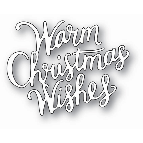 Memory Box WARM CHRISTMAS WISHES Craft Die 99784 Preview Image