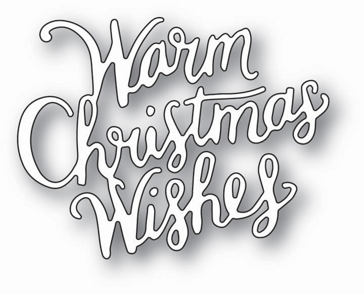 Memory Box WARM CHRISTMAS WISHES Craft Die 99784 zoom image