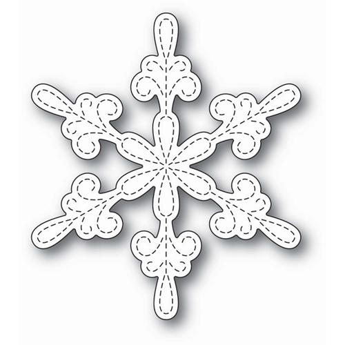 Memory Box CHANCERY SNOWFLAKE OUTLINE Craft Die 99802 Preview Image