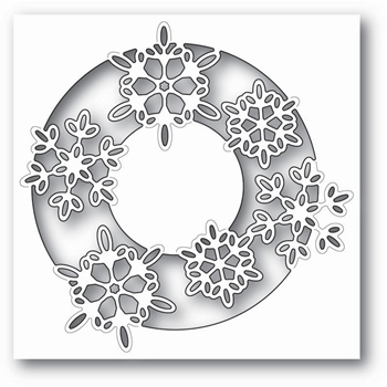 Memory Box SNOWFLAKE LENS Craft Die 99812