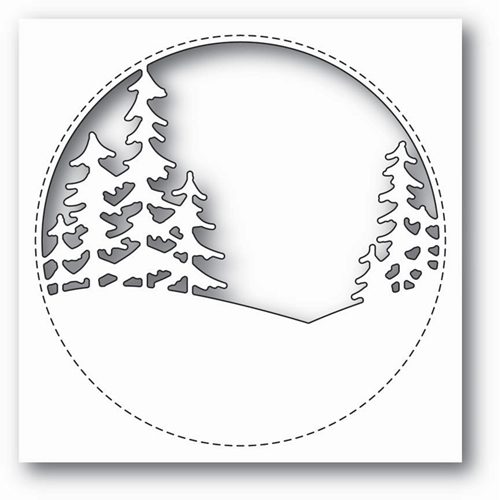 Memory Box STITCHED CIRCLE TREES Craft Die 99843 Preview Image