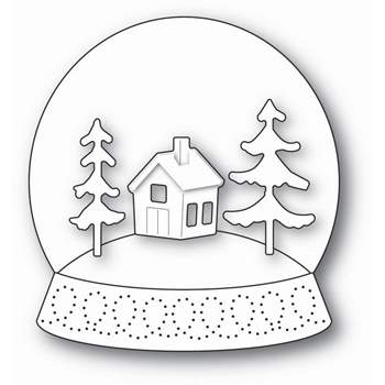 Memory Box SNOWGLOBE KIT Open Studio Craft Die 30092