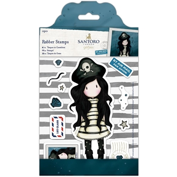 DoCrafts PIRACY Cling Stamps Gorjuss 907130