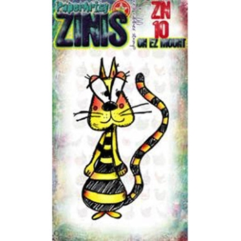 Paper Artsy ZINI 10 Maxi Mini Rubber Cling Stamp ZN10