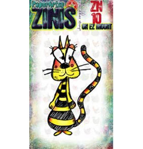 Paper Artsy ZINI 10 Maxi Mini Rubber Cling Stamp ZN10 zoom image