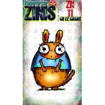 Paper Artsy ZINI 11 Maxi Mini Rubber Cling Stamp ZN11