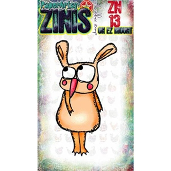 Paper Artsy ZINI 13 Maxi Mini Rubber Cling Stamp ZN13