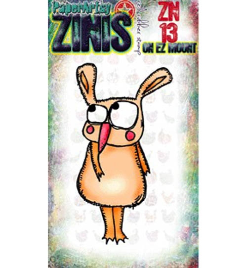 Paper Artsy ZINI 13 Maxi Mini Rubber Cling Stamp ZN13 zoom image