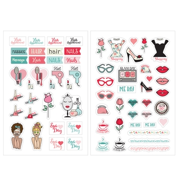 Prima Marketing BEAUTY STICKERS Julie Nutting Planner 912024