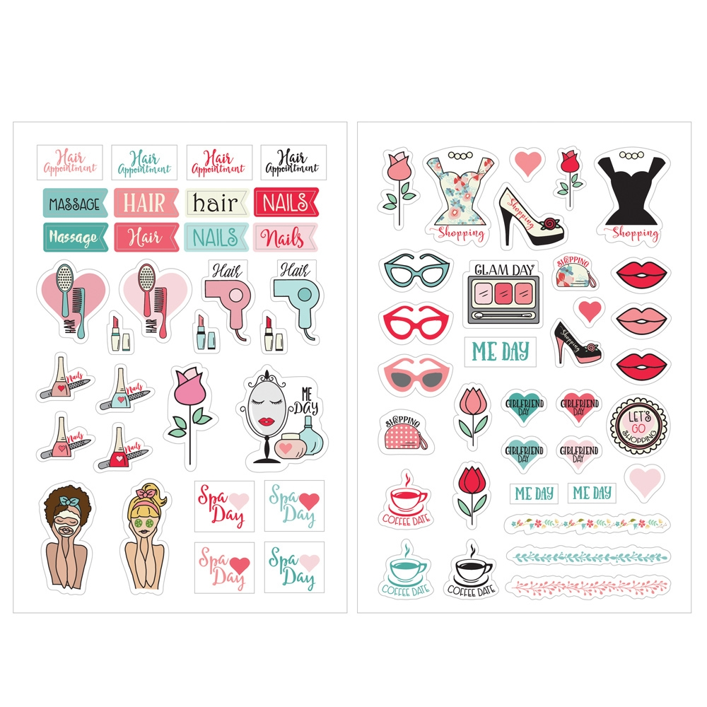 Prima Marketing BEAUTY STICKERS Julie Nutting Planner 912024 zoom image