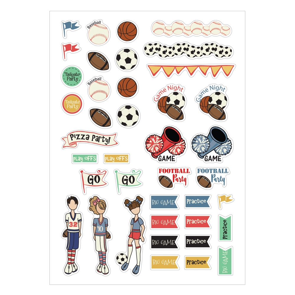 Prima Marketing SPORT STICKERS Julie Nutting Planner 911973 zoom image