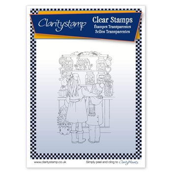Claritystamp JAYNES SWEET SHOP Clear Stamp STACH10536A5