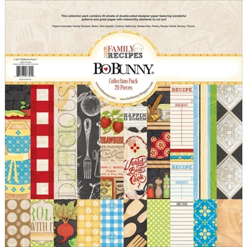 BoBunny 12 x 12 FAMILY RECIPES Collection Pack 21916391