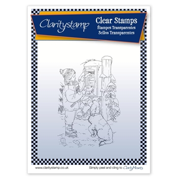 Claritystamp JAYNES LETTER TO SANTA Clear Stamp STACH10538A5